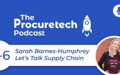 Supply Chain Digitisation – Sarah Barnes-Humphrey from Let's Talk Supply Chain